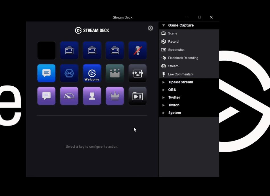 añadir botones obs stream deck