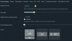 configurar alertas streamlabs