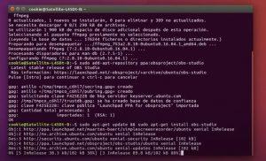 linux instalacion obs-studio
