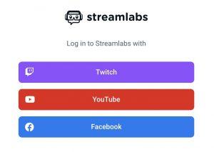loguearnos en streamlabs chat