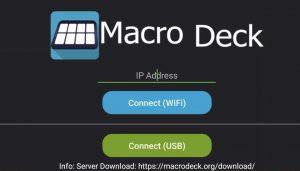 macro deck ip aress