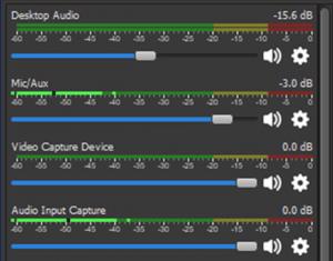 mezclador audio obs studio
